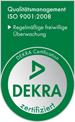 DEKRA-zertifiziert - ISO 9001:2008